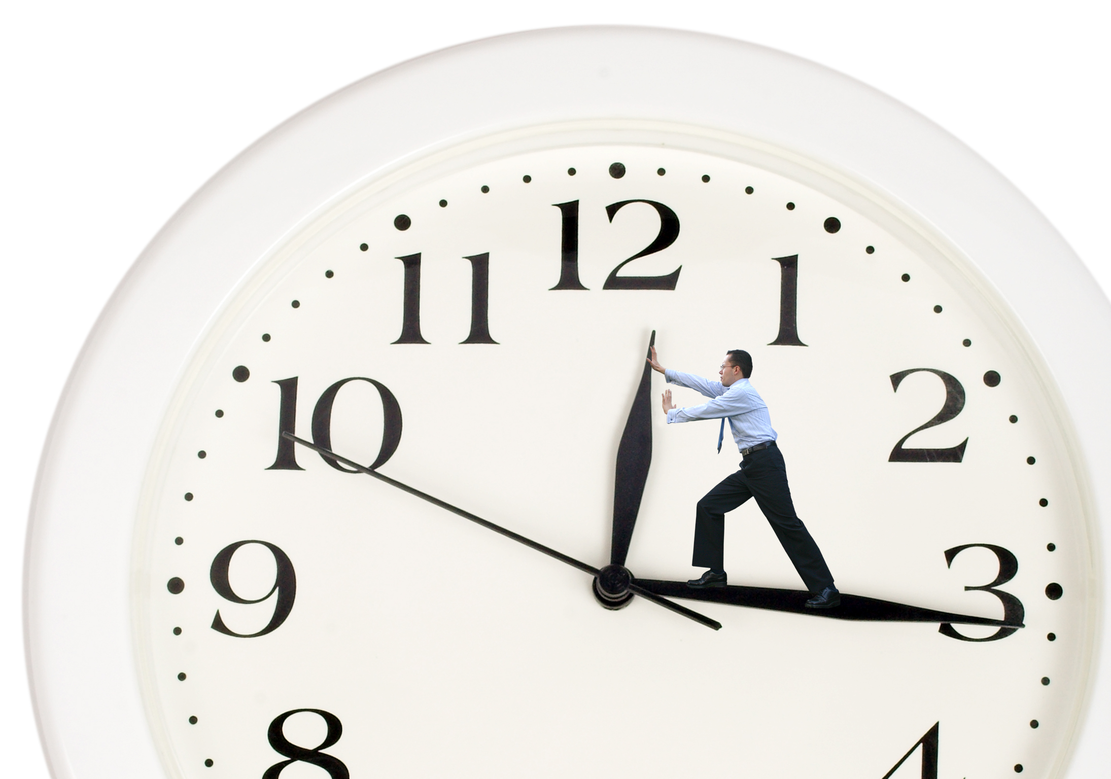 importance of showing up on time